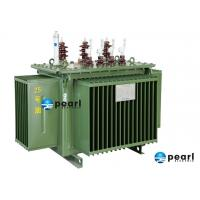 Pole mounted ONAN / Oil Immersed Distribution Transformer / Auxiliary Transformer Manufactures