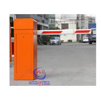 China Automatic car park barriers RFID Card Reader / CE vehicle barrier gates For Parking Lot on sale