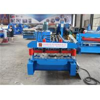 Buy cheap Metal Roofing K Gutter Roll Forming Machine Low Noise ISO CE Certification from wholesalers