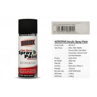 Matt White Color Aerosol Spray Paint , Car Spray Paint With SGS Certificate Manufactures