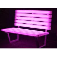 Light Up Chairs Garden Furniture , PE  Plastic Glow In The Dark Chairs Manufactures