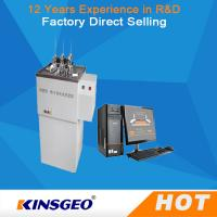 China AC220V±10%、50Hz、30A Thermal Deformation Plastic Testing Machine Vicat Softening Point Test on sale
