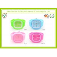 China Unique Unisex Silicone Rubber Wrist Watch For Girl With 20CM Watchband on sale