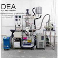 Double Stage Medical Hemp CBD Producing Line With Short Path Evaporator Body Manufactures