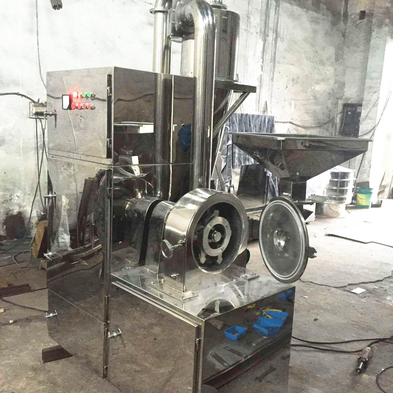 Automatic Powder Crusher Machine High Capacity For Herbal Powder Making for sale