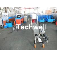 Custom Portable Downspout Machine / Mobile Rainspout Forming Machine Manufactures