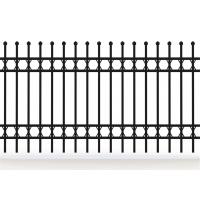 New Design Spear Top Fencing Hot Sale, tubular steel fence/swimming pool fence/steel palisade fence Manufactures