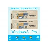 China Online Activation Windows 8.1 Product Key Code Lincense COA Sticker 64/32 Bit on sale