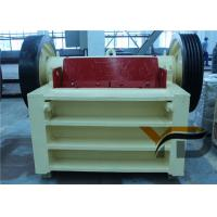 China Customizable White Small Jaw Crusher Machine For Hard Rock Crushing Plant on sale