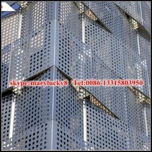 aluminum perforated facade panel/perforated aluminum panel for facade