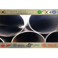Galvanized ST52 Welded Carbon Steel Pipe / Q235 ERW Welded Tube Manufactures