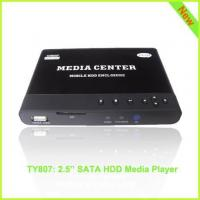 Quality TY807: 1080p HDD Media Mobile Player F10 for sale