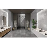 China 600*1200mm Large Cement Look Porcelain Tile Durable Light Grey Color Ceramics Wall Tile on sale