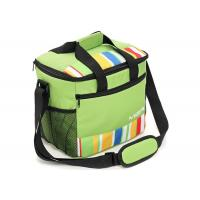 Adult Lunch Boxes / Polyester Cooler Bag Travel Insulation PVC Lining Manufactures