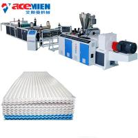 Pvc Extrusion Board Corrugated Sheet Making Machine , Tile Forming Machine Manufactures