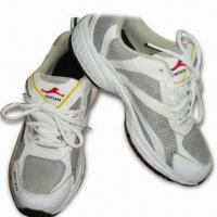 Men's Sports Shoes with Leather Upper and EVA + Rubber Outsole, Available in Many Colors and Sizes Manufactures