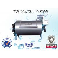 Water Saving Horizontal Commercial Washing Machines Of 100kg - 300kg Capacity Manufactures