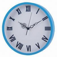 """12"""" plywood wall clock with painted case Manufactures"""