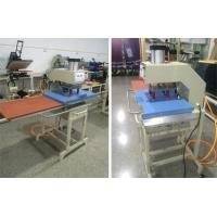 "16 X 24"" Pneumatic Double Working Table Heat Transfer Printers CE Certification Manufactures"