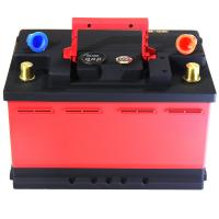 Red And Black Lifepo4 Battery Cells / Lithium Phosphate Car Battery CE FC RoHS Manufactures