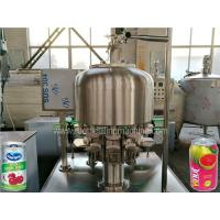 China Stainless Steel Tin Can Filling Machine Commercial Fruit Juice Making Machine on sale