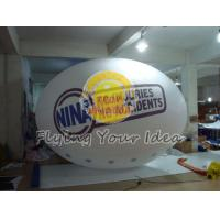 Huge Two sides digital printed Oval Balloon with Good Elastic for Outdoor Advertising Manufactures