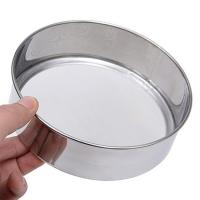 Buy cheap Customizable Wire Mesh Sieve , Round Shape Stainless Steel Test Sieves from wholesalers