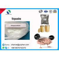 China Top Purity Vinpocetine Powder CAS 42971-09-5 For Cerebrovascular Expansion/ Brain Health Supplement on sale