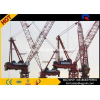 400 Span Luffing Fixed / Movable Jib Crane Freestanding Height 50M Manufactures