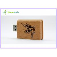 OEM Wooden USB Flash Drive Promotion Book Wood Pendrive 4GB Pen drive with Company Logo 4GB 8GB 16GB 32GB Manufactures