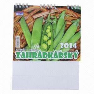Desktop/Wall Calendar, Flower Smell, Inscense Ink Calendar Manufactures