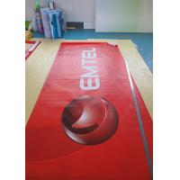 Roll Up Retractable Display Banners For Trade Shows Injet / Digital Printing Manufactures