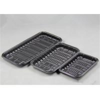 Biodegradable Packaging PP Food Tray Polypropylene Material For Supermarket Fish Meat Manufactures