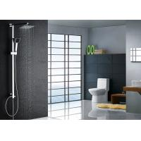 China Super Thin Square Rainfall Modern Shower Fixtures , Chrome Shower Fixtures ROVATE on sale