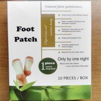 100% new material bamboo Vinegar Detox foot patch Manufactures