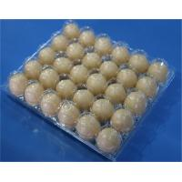 Disposable plastic egg tray 30 holes egg packaging box plastic egg tray 15 slots plastic clamshells egg tray 30 holes Manufactures