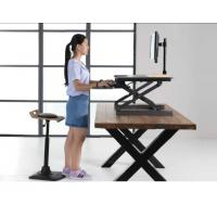 Gas Spring Riser Height Adjustable Standing Desk Ergonomics Monitor Height  Manufactures