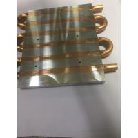 China SGS Copper Pipe Heatsink Water Cooling flat Heat pipe soldering heat sink for Projector on sale