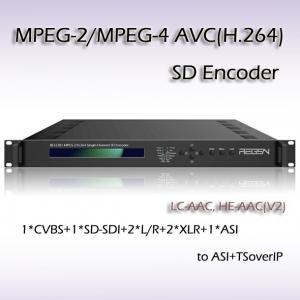 SDI SD IPTV MPEG-2 Encoder Manufactures
