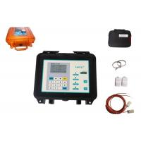 China High Accuracy and low cost Portable ultrasonic fuel flow meter non contacting type on sale
