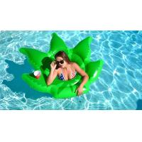 """Float On Weed Leaf Inflatable Pool Floats Envirnomental PVC Pool Party Toys 64*64"""" Manufactures"""