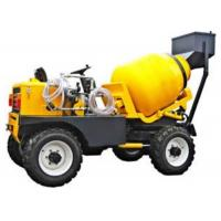 Buy cheap One Axle Yellow Color Special Purpose Trucks 800L Drum 350L Concrete Equipment from wholesalers