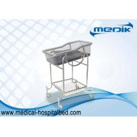 Storage Basket Pediatric Hospital Beds Transparent Baby Tray SS Stucture Manufactures