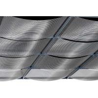 China Sound Absorbing Stainless Steel Ceiling Panels Saving Resource Any Color Available on sale