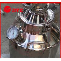1 Layer Manual Home Distilling Equipment , Copper Stills For Moonshine Manufactures