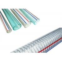 Food Grade PVC Spring Hose , PVC Steel Wire Hose / Pipe / Tube FDA Approved Manufactures