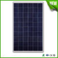China 250w poly solar panel , combined by 60pcs 156 cells, with TUV, CE, CQC for sale on sale