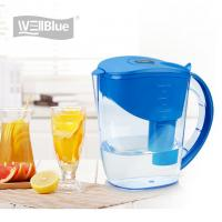 China 10 Cup Alkaline Water Filter Jug , BPA Free Plastic Water Purifier Pitcher 3.5L on sale