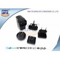 Black Universal USB Power Adapter AC DC Adaptor 6V 500Ma , International Travel Plug Adapter Manufactures