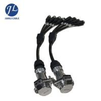 Car Alarm System Rear View Camera Cable With Heavy Duty 5 Pin Mini Din Cable Manufactures
